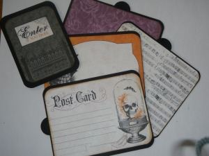 Journaling cards/photo mats